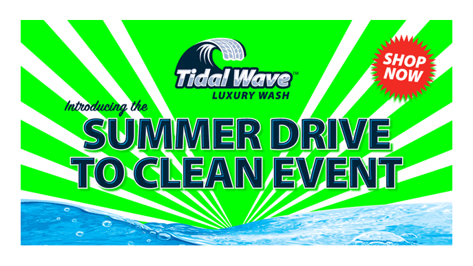 Tidal Wave Summer Drive Facebook ad