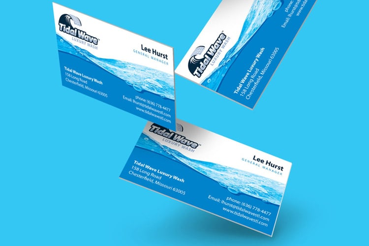 TidalWave branding design
