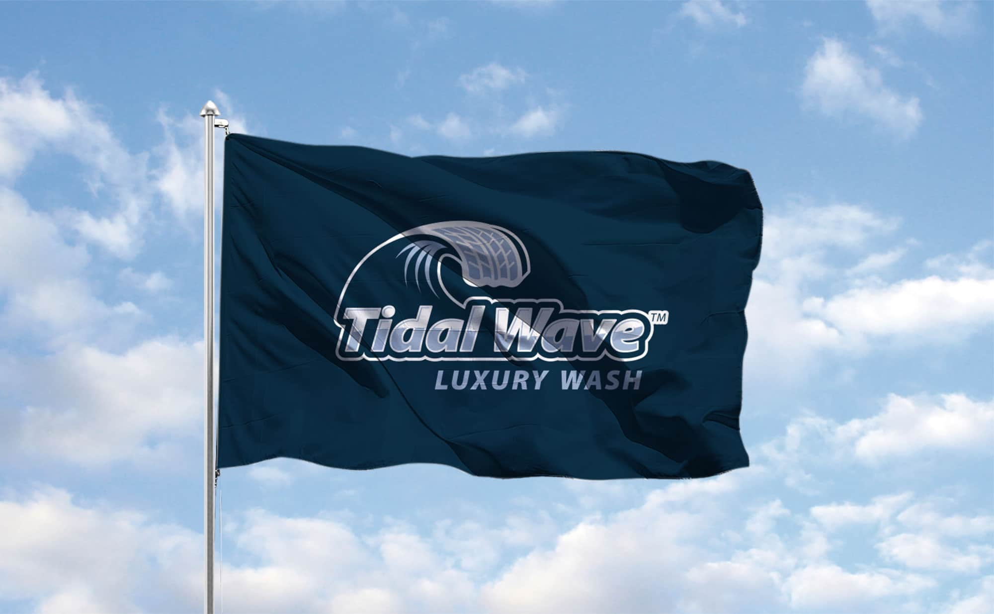 Tidal Wave flag design