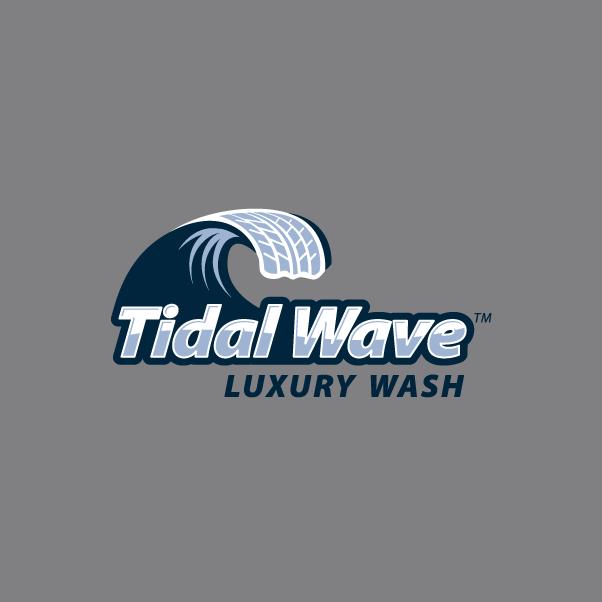 Tidal Wave logo Grey BG