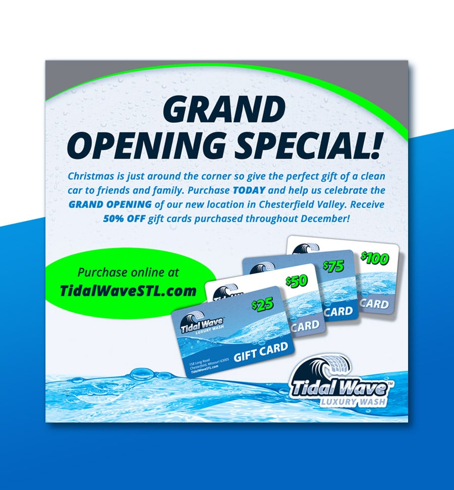 Tidal Wave social media graphics branding 2