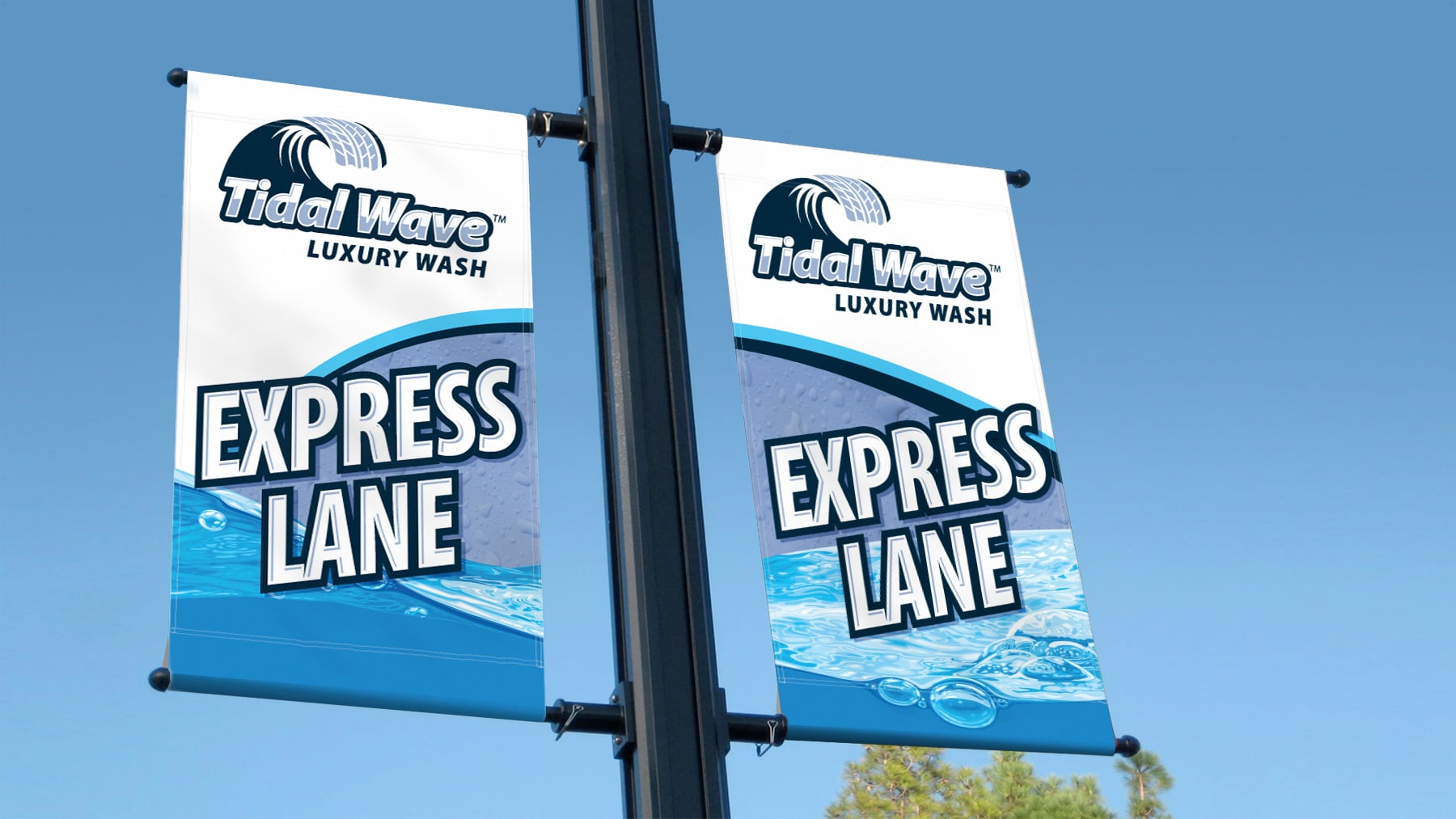 TidalWave graphic banners