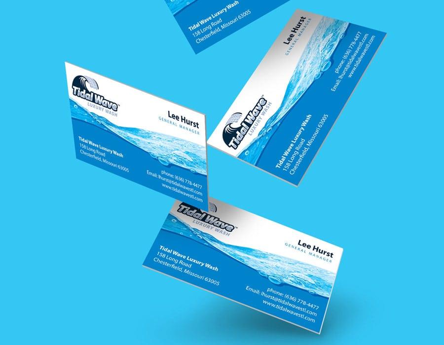 Tidal Wave Branding Design Package