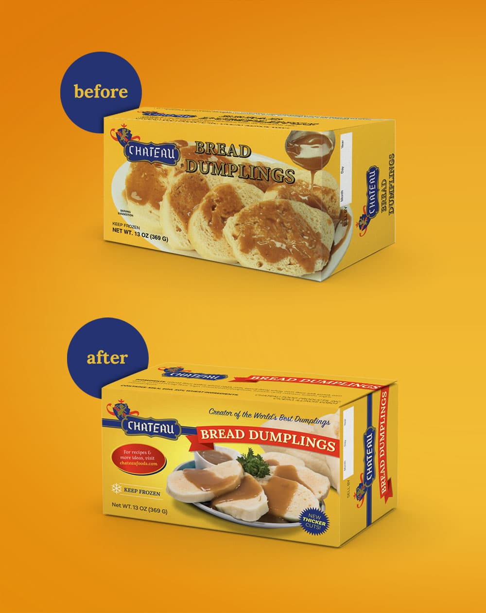 Chateau Bread Box before after