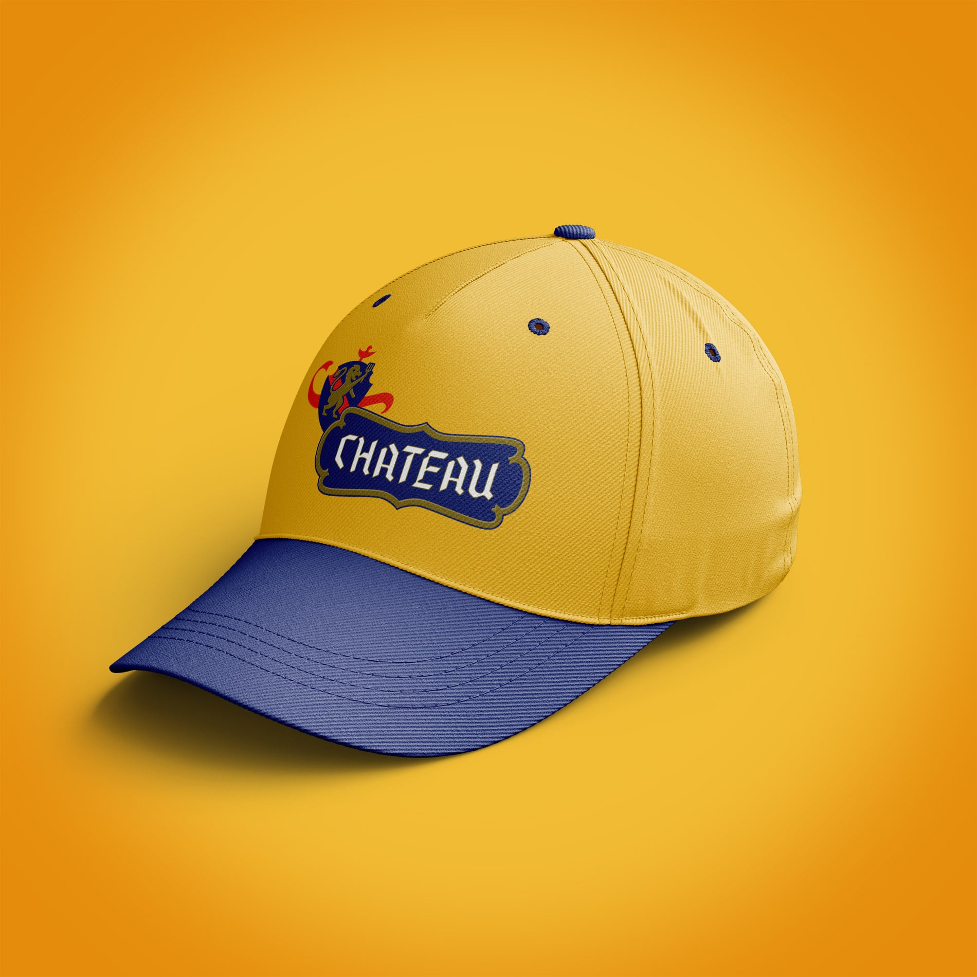 Chateau branded hat design