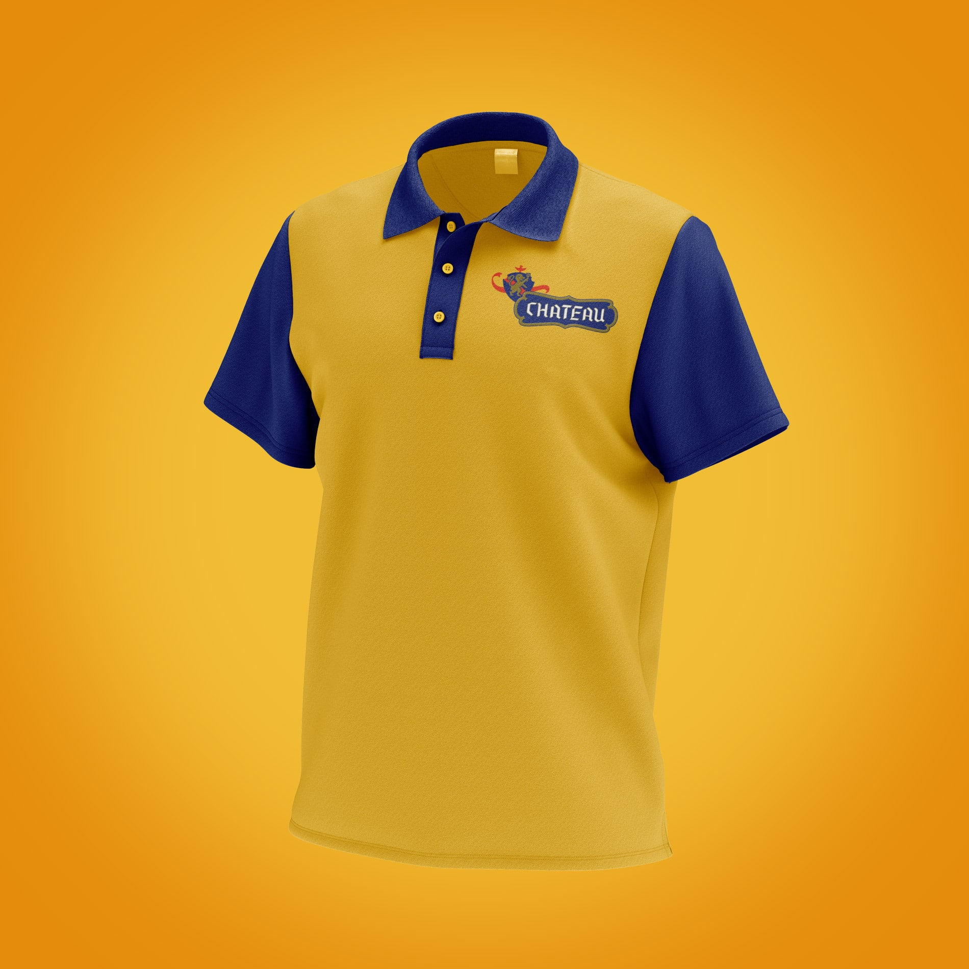 Chateau branded Polo Shirt Design