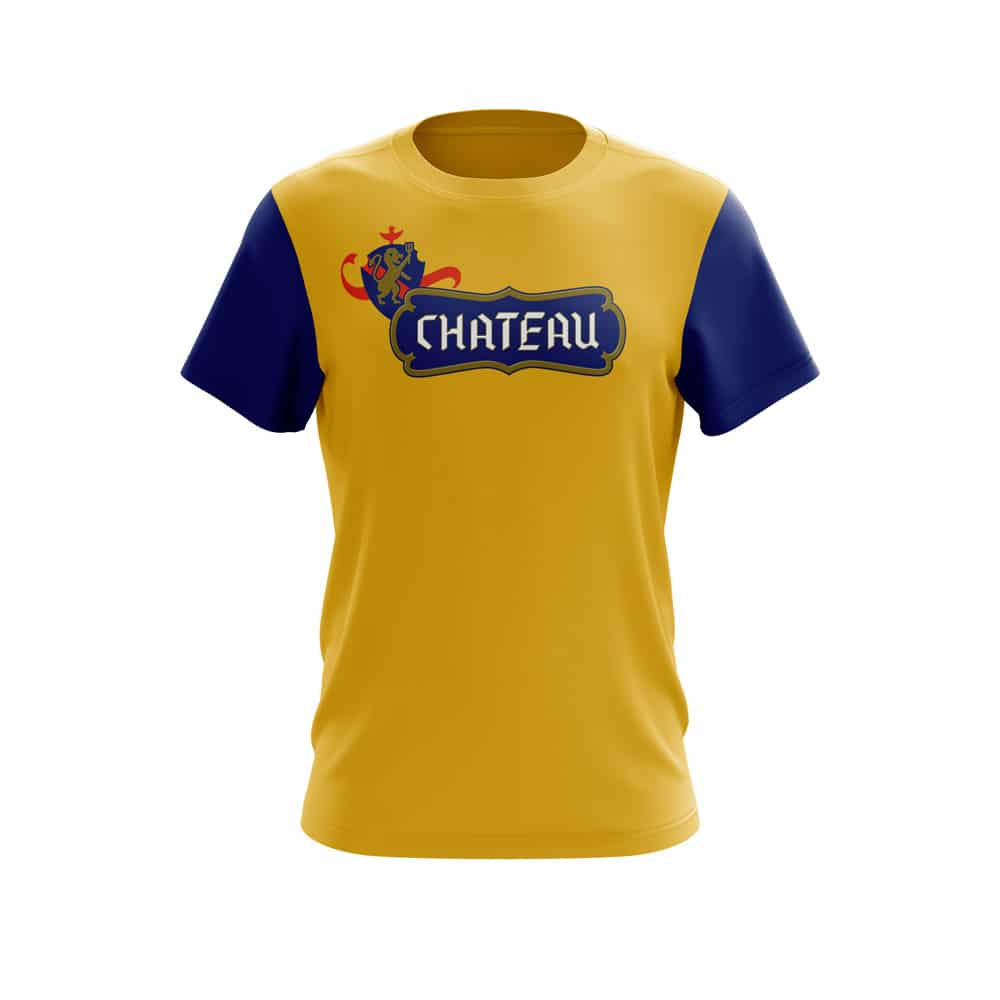 Chateau branded T-shirt design