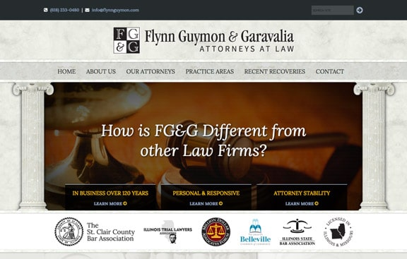 Flynn Law Firm Website Design