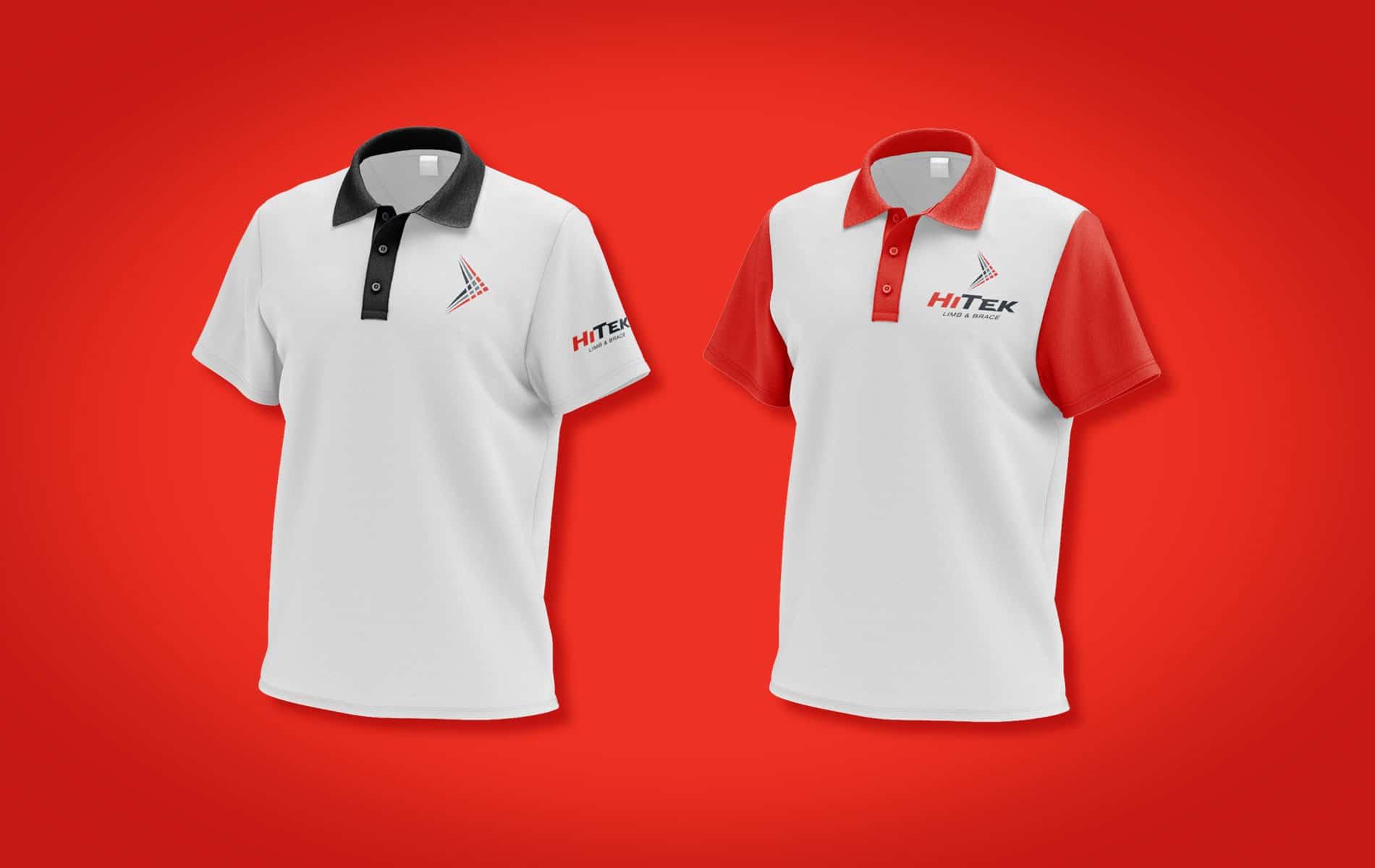 HiTek collared shirt designs