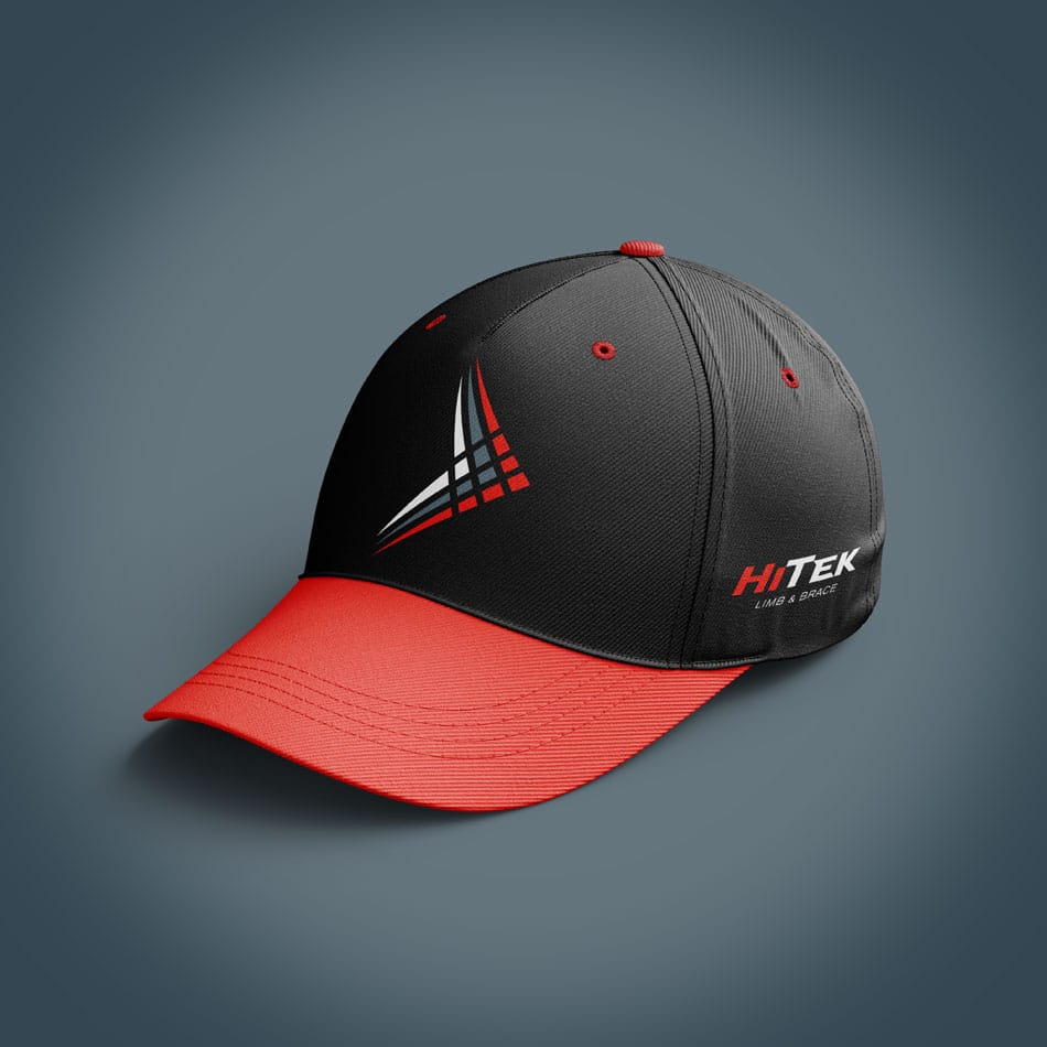HiTek baseball hat design