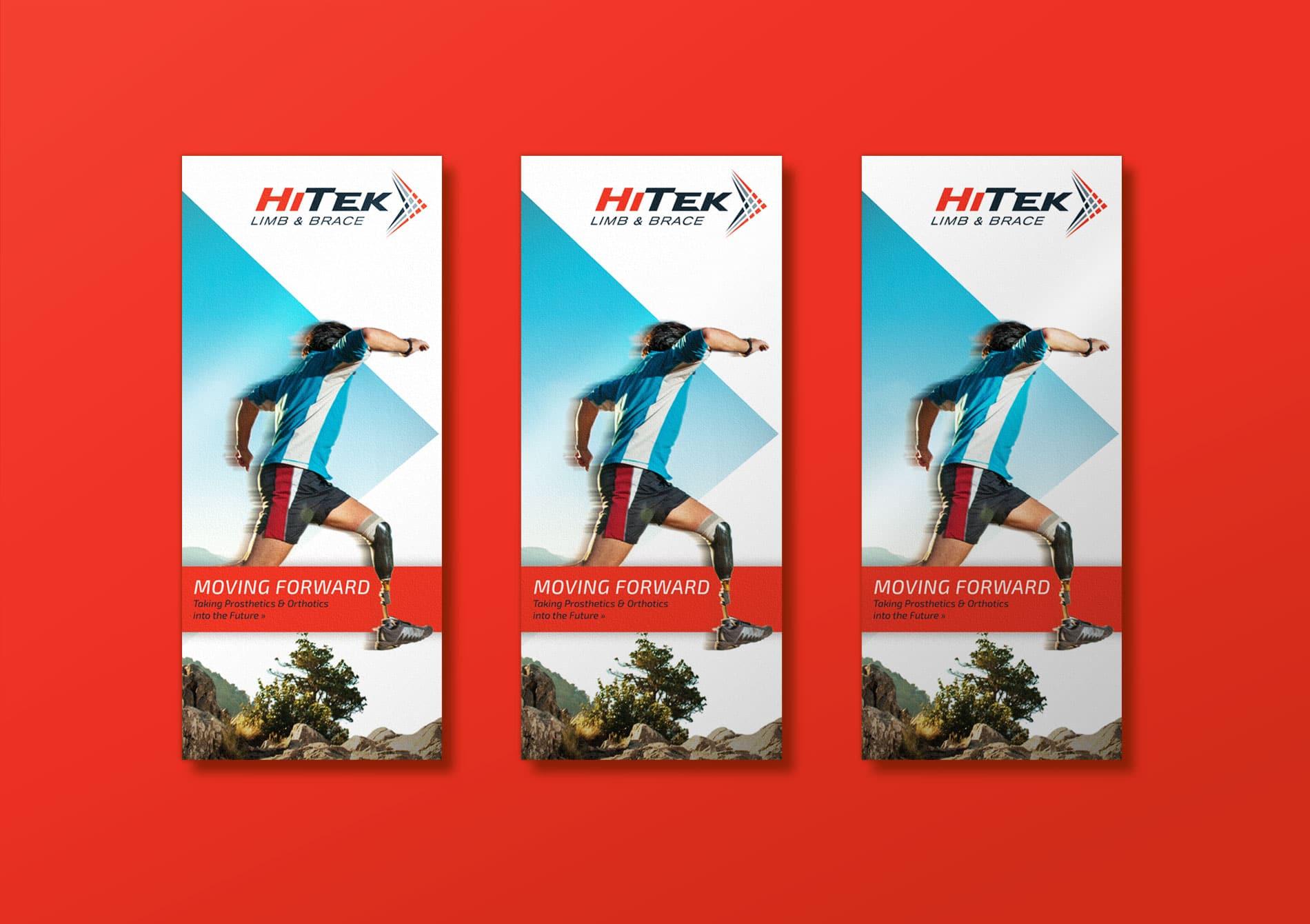 HiTek small trifold cover design