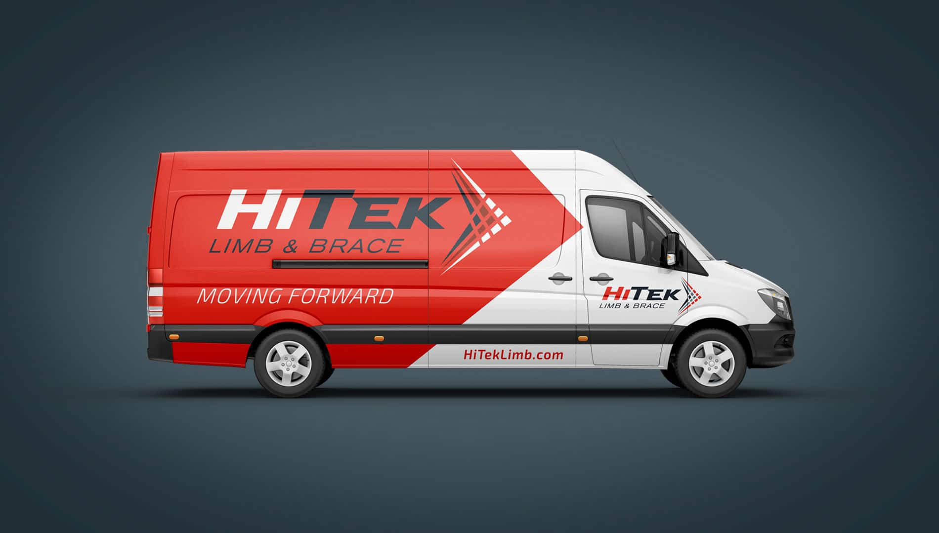 HiTek vehicle wrap design