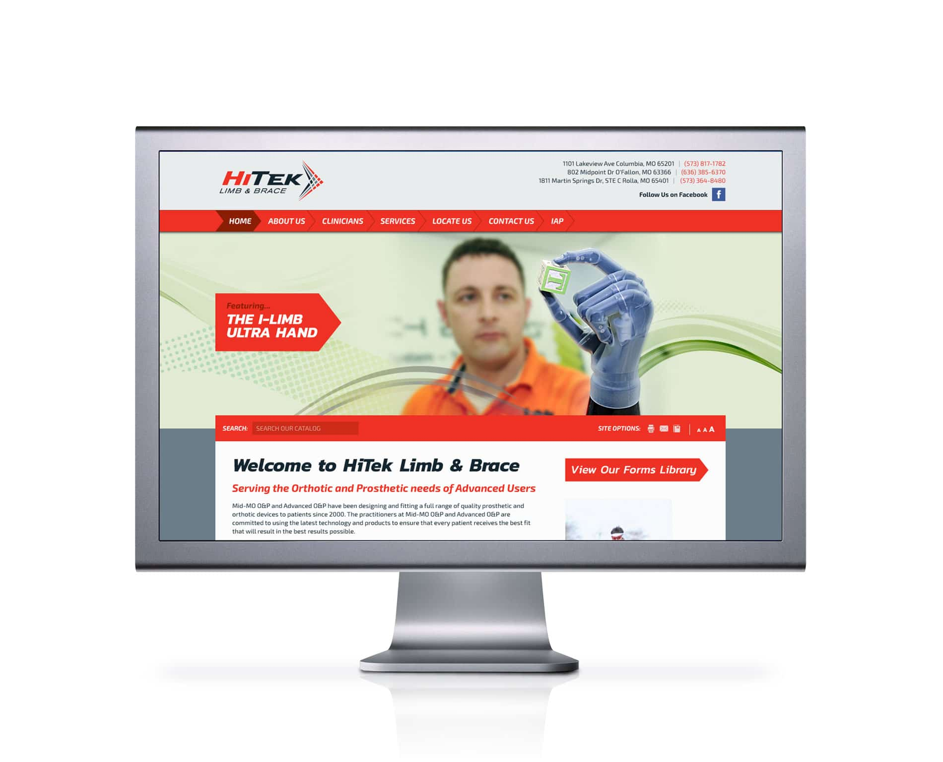 HiTek web design