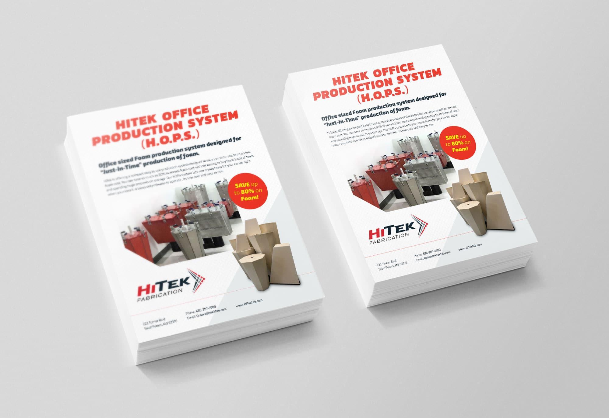 HiTek HOPS Flyer Design