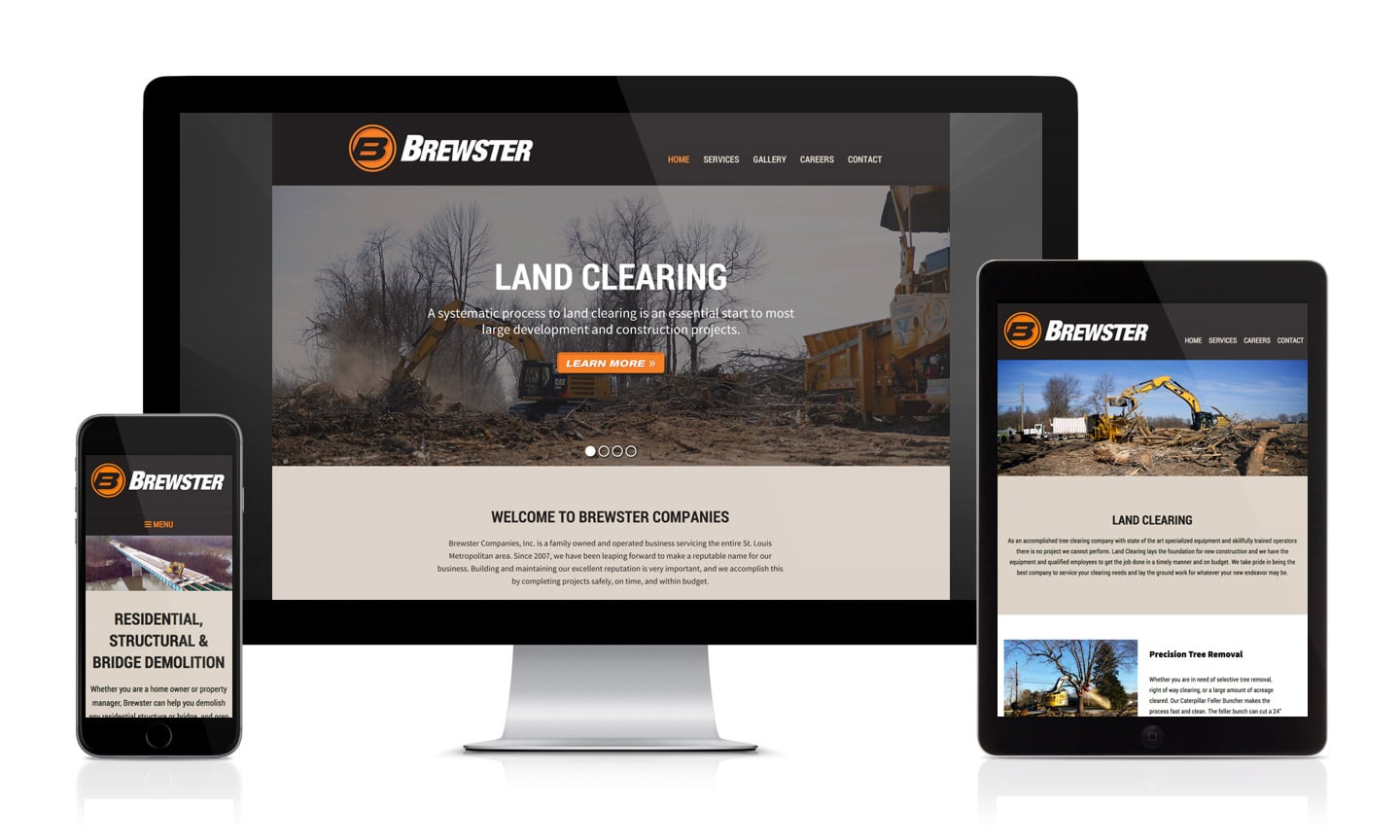 Brewster Companies Website