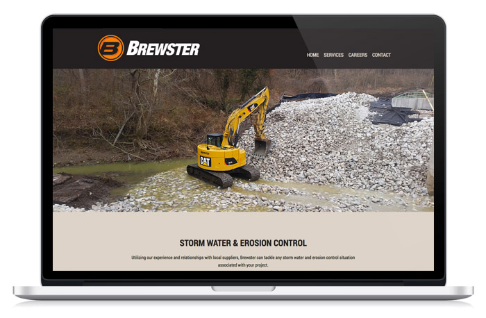 Brewster Companies website design