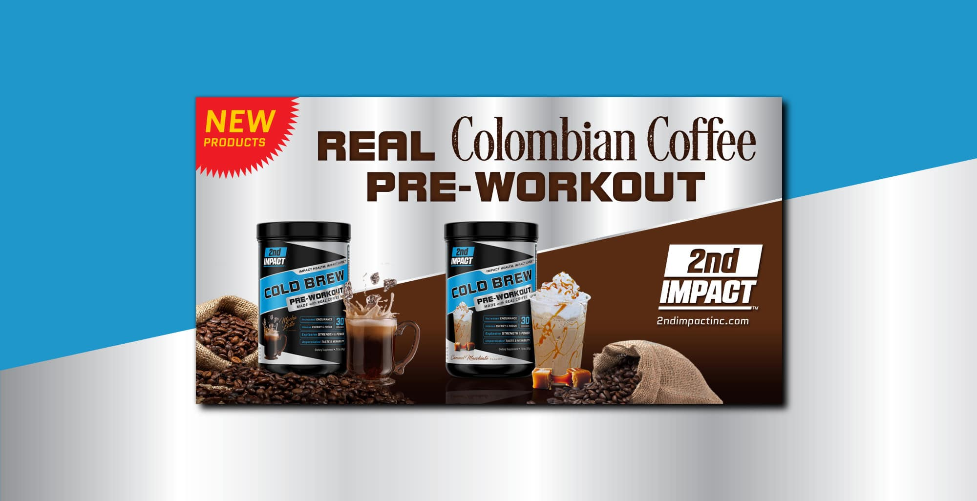 2nd Impact Coffee Pre Workout Facebook Ad 2