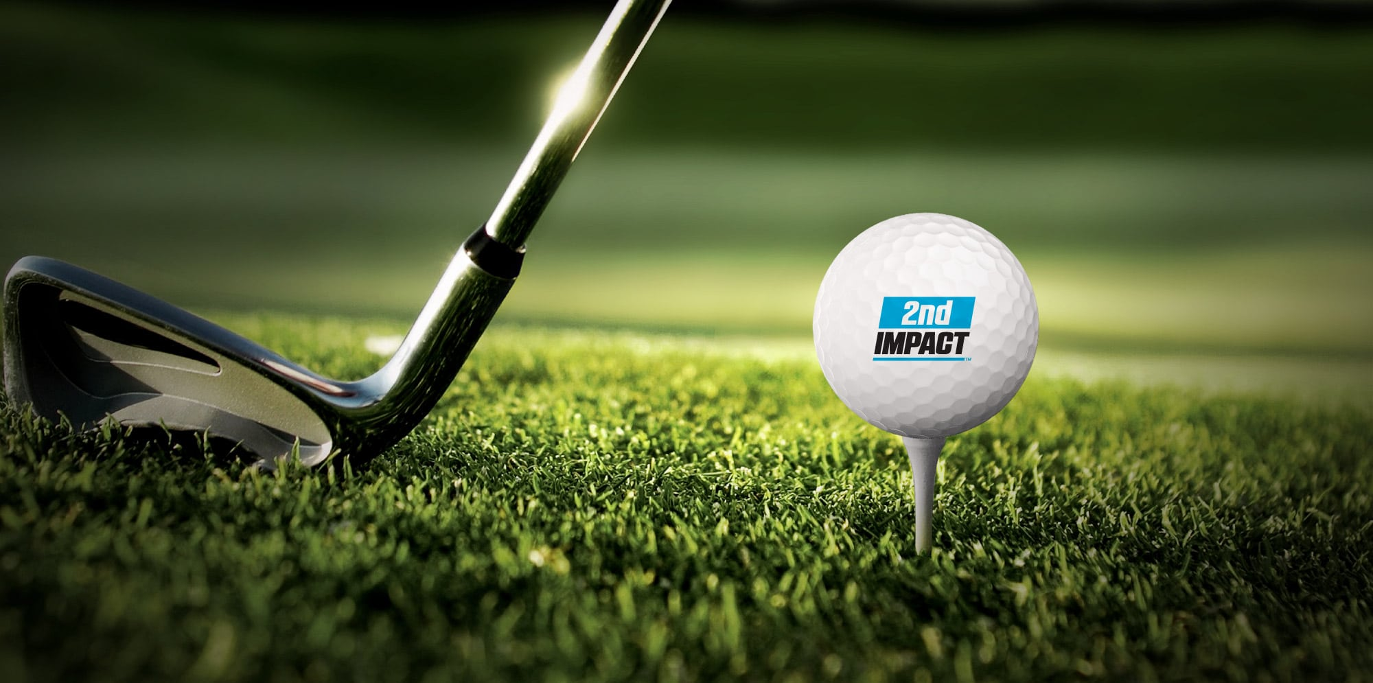 2nd Impact Branded golfball