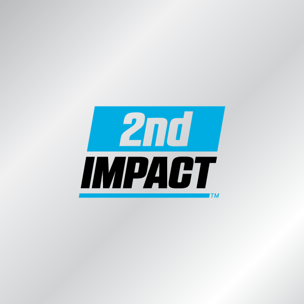 2nd Impact logo w silver background
