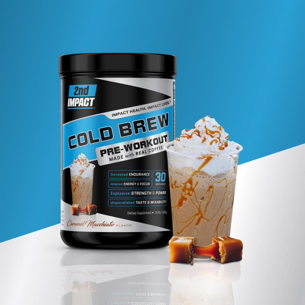 2nd Impact Camarel Cold Brew package design