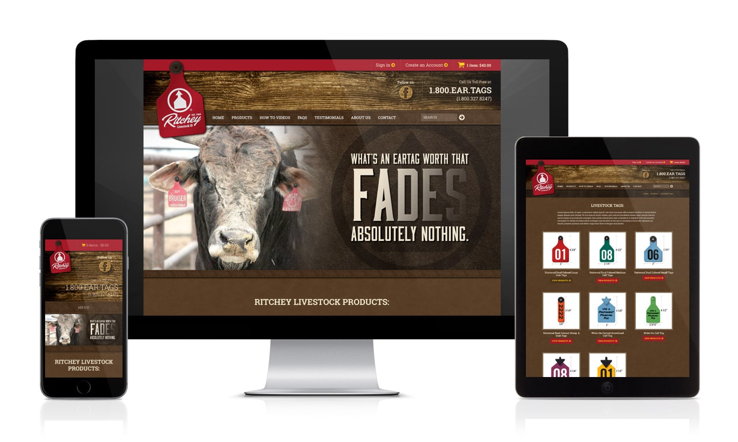 Ritchey Livestock ID Website