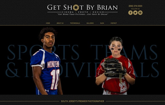Get Shot by Brian Web Design