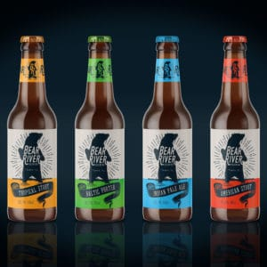 Bear River Brewing Label Design 2