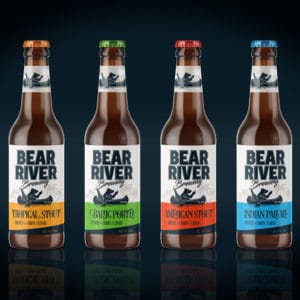 Bear River Brewing Label Design 3
