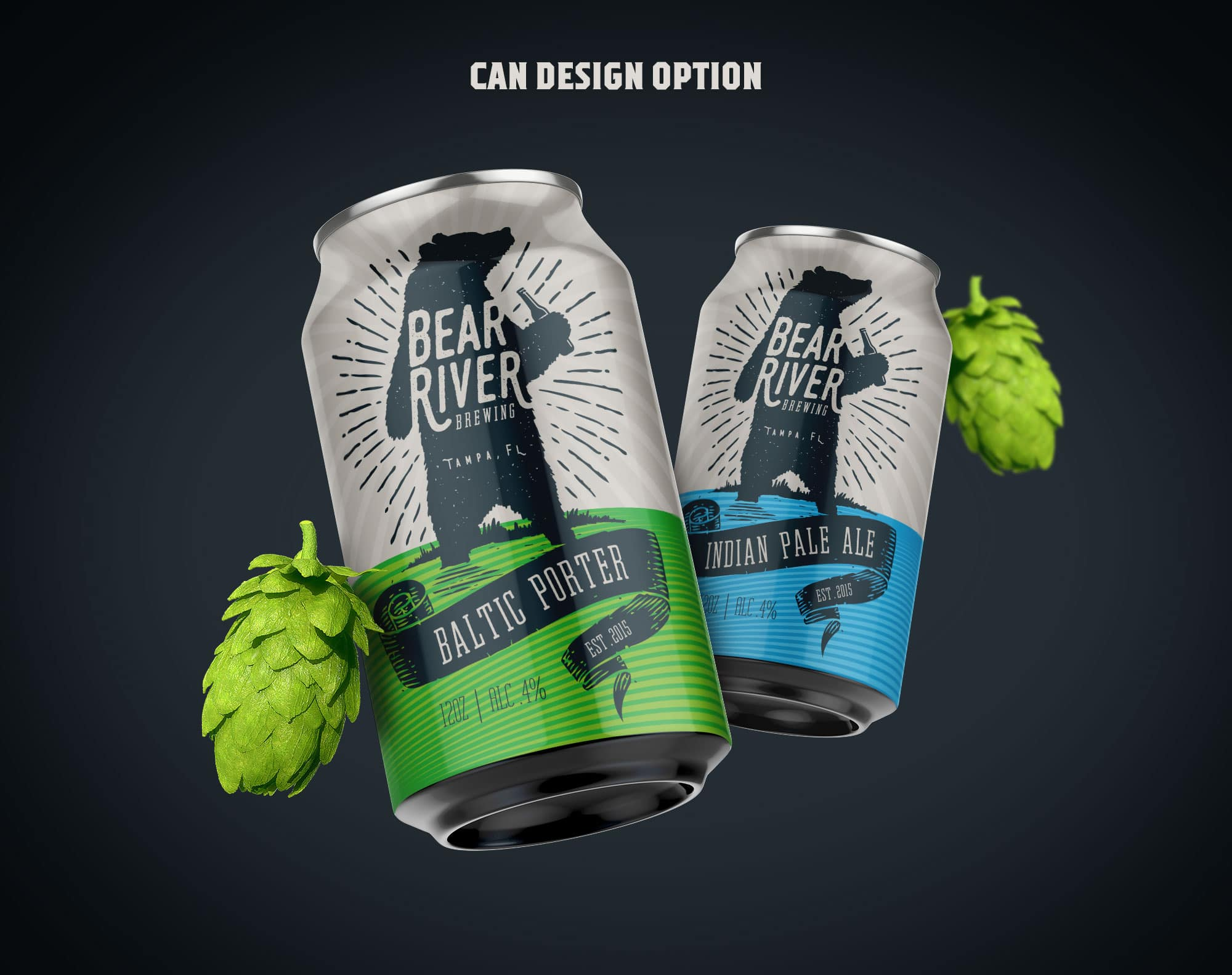 Bear River Brewing Optional Can Design 3