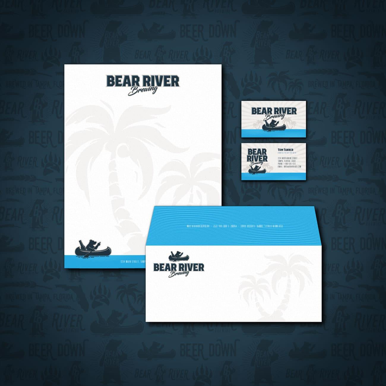 BRB letterhead branding