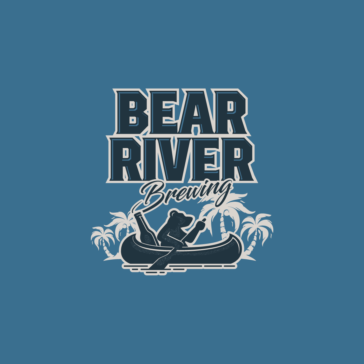 Bear River Brewing Logo Design 2