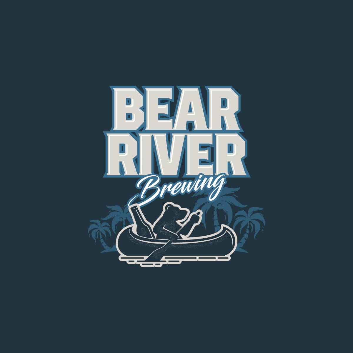 Bear River Brewing Logo Design 3