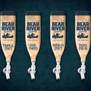 Bear River Brewing Handle Designs