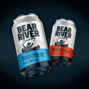 Bear River Brewing Can Design 1