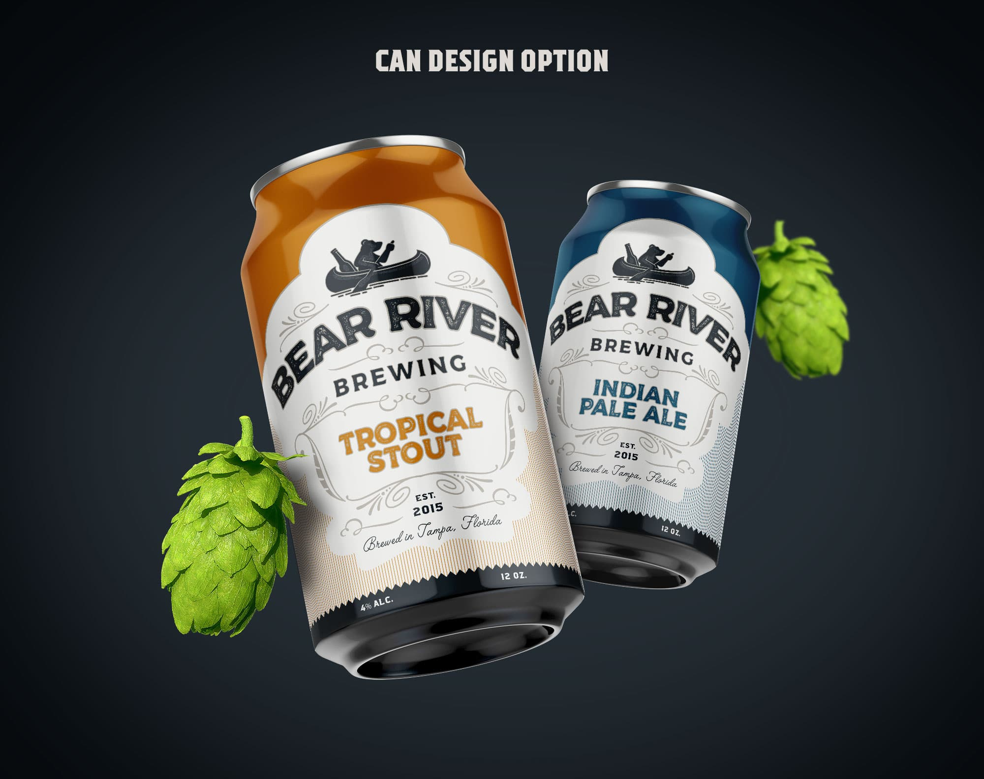 Bear River Brewing Optional Can Design