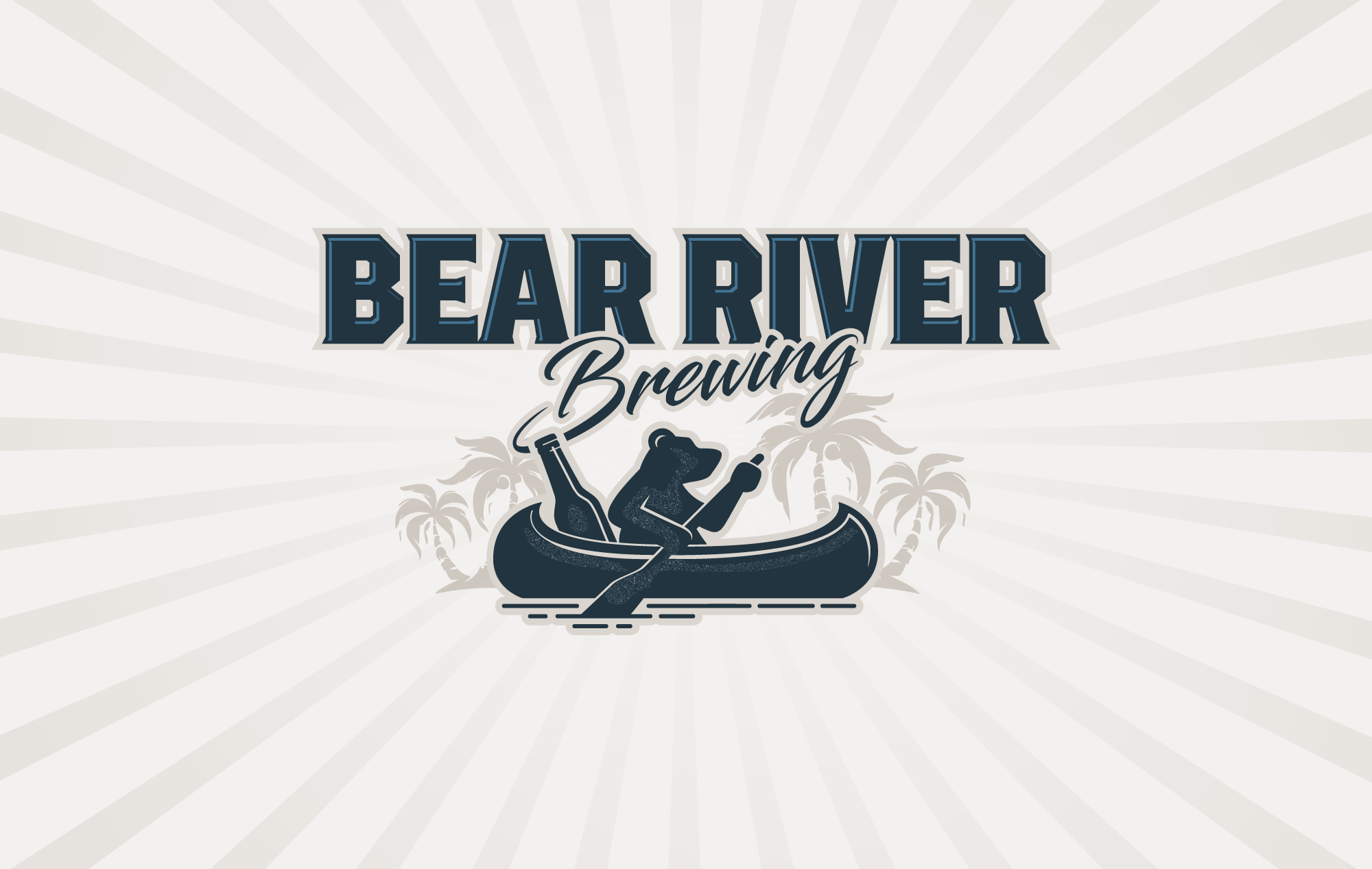 Bear River Brewing Logo Design