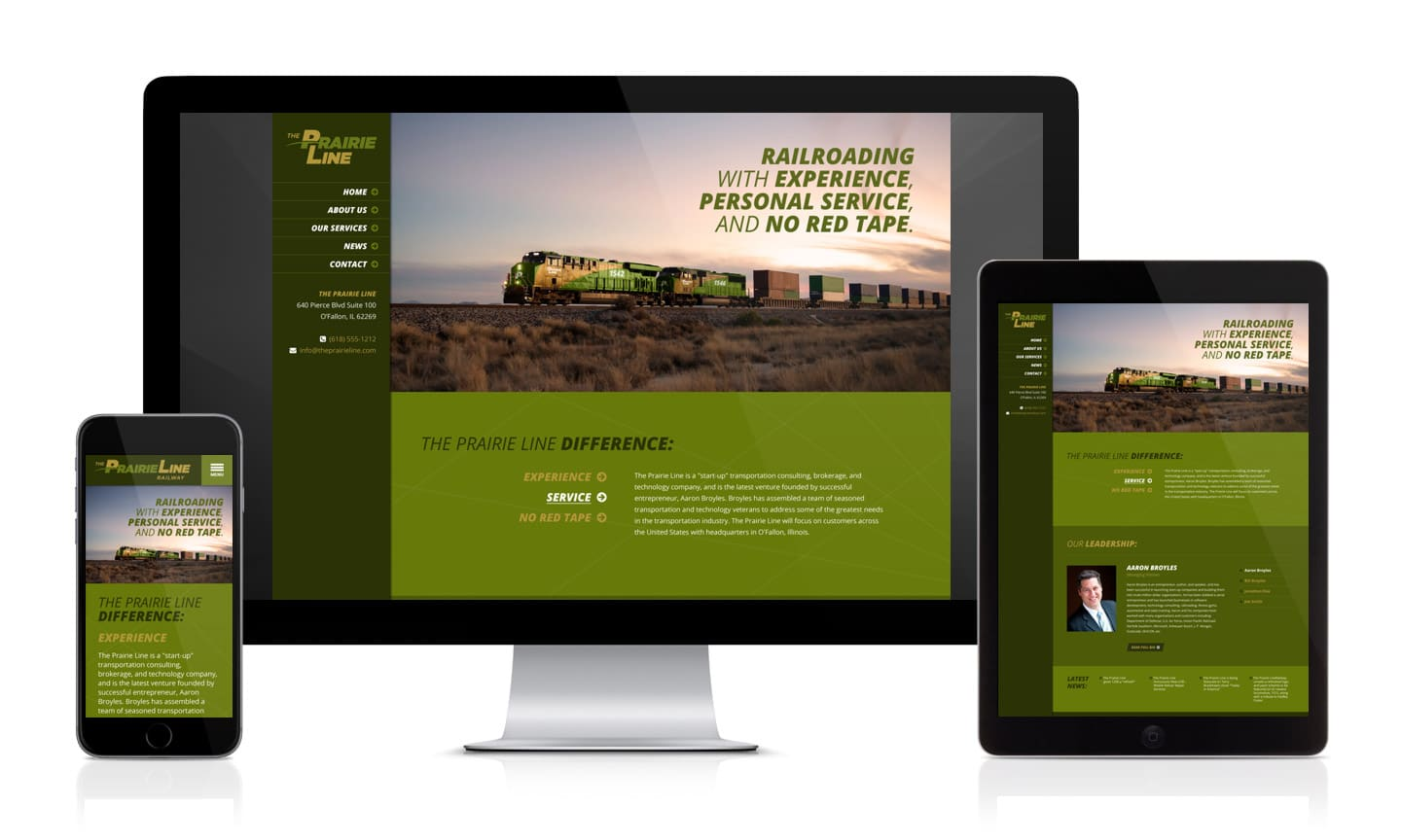 The Prairie Line Website