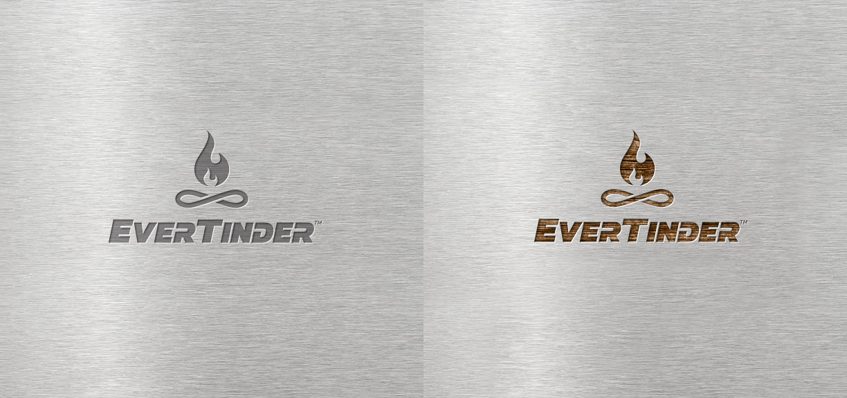 EverTinder stainless steel logo