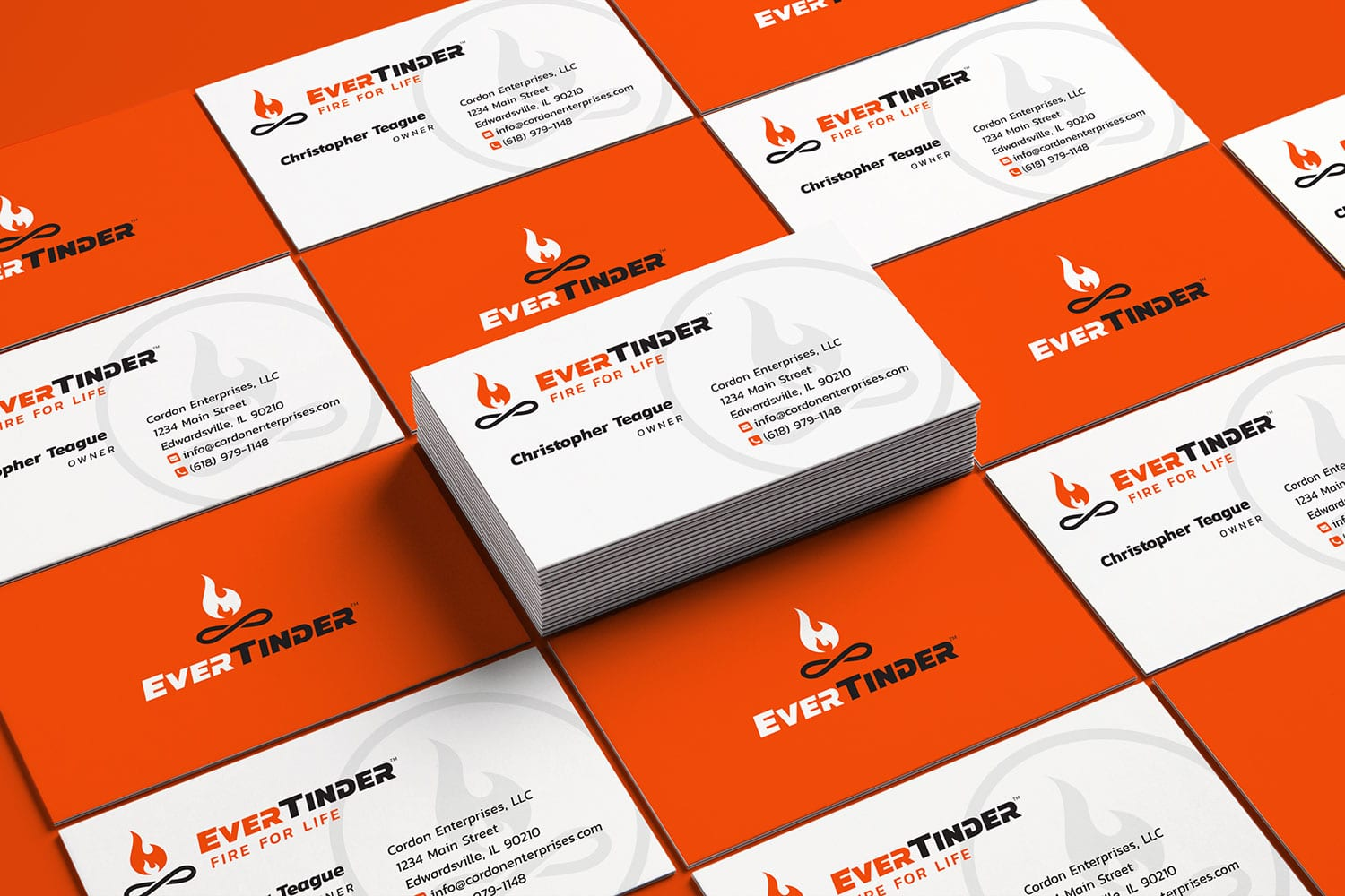 EverTinder business cards 1