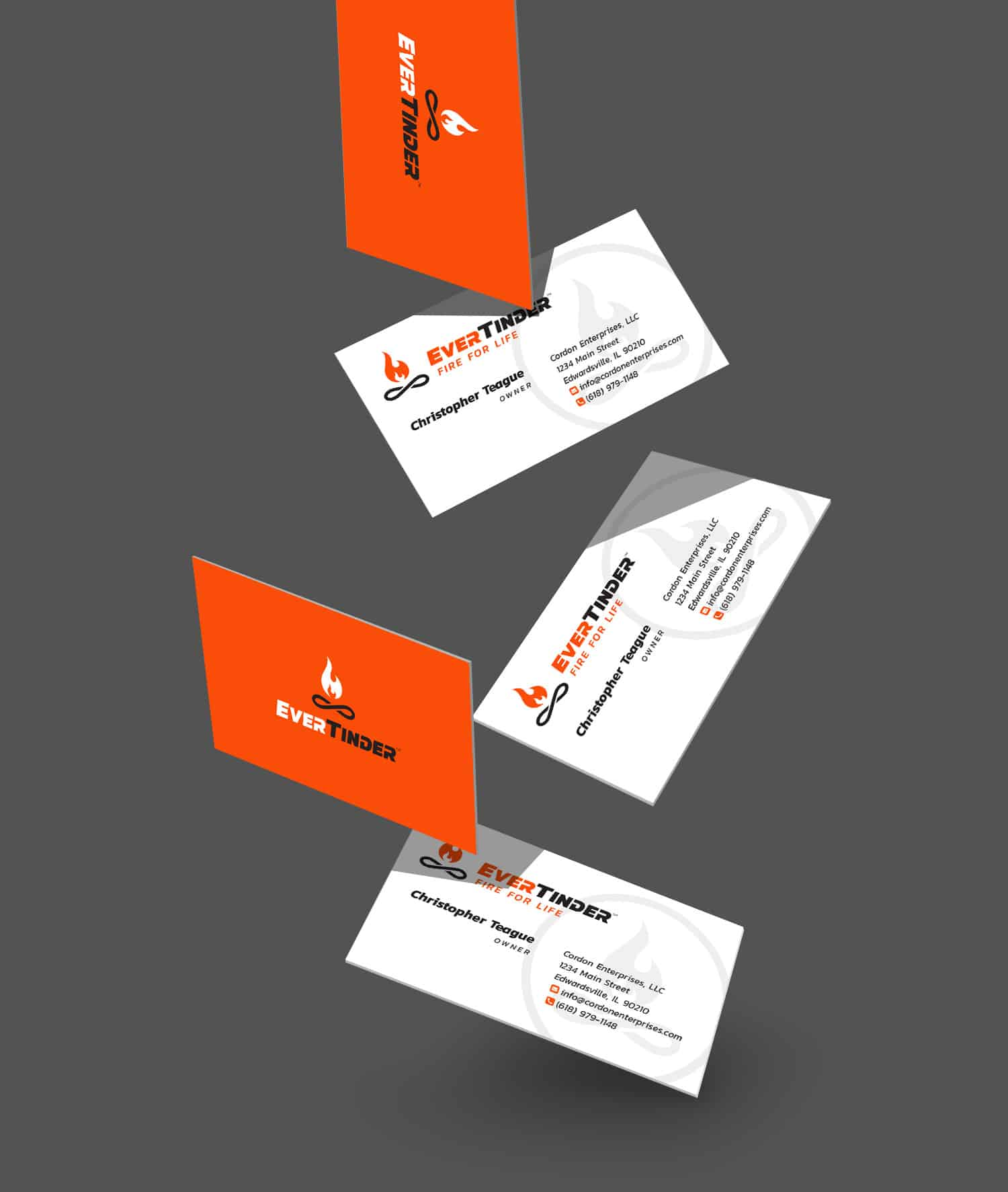 EverTinder business cards 2