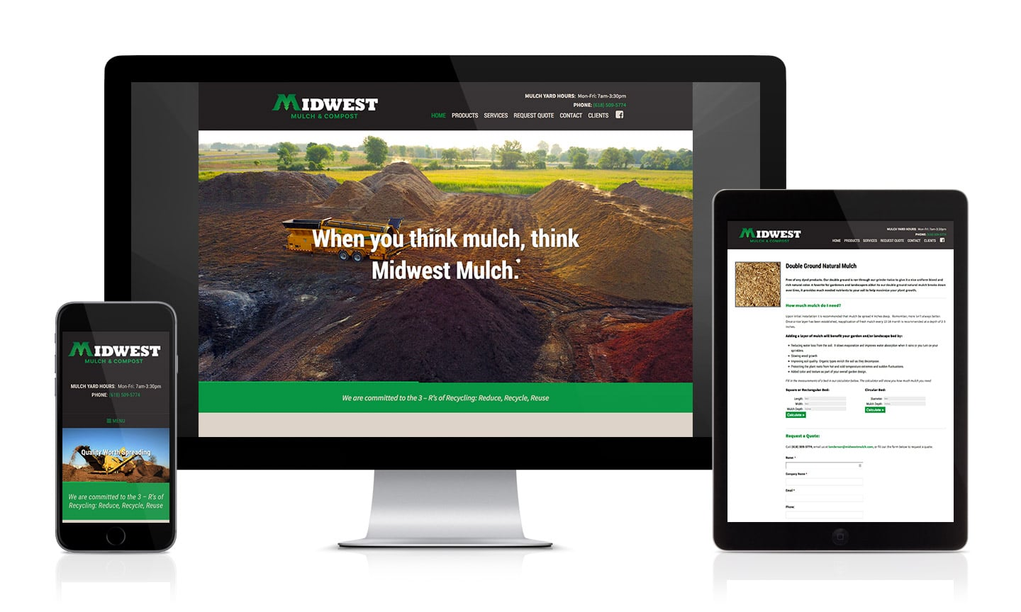 Midwest Mulch Website
