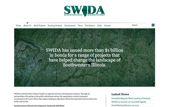 SWIDA web design thumb