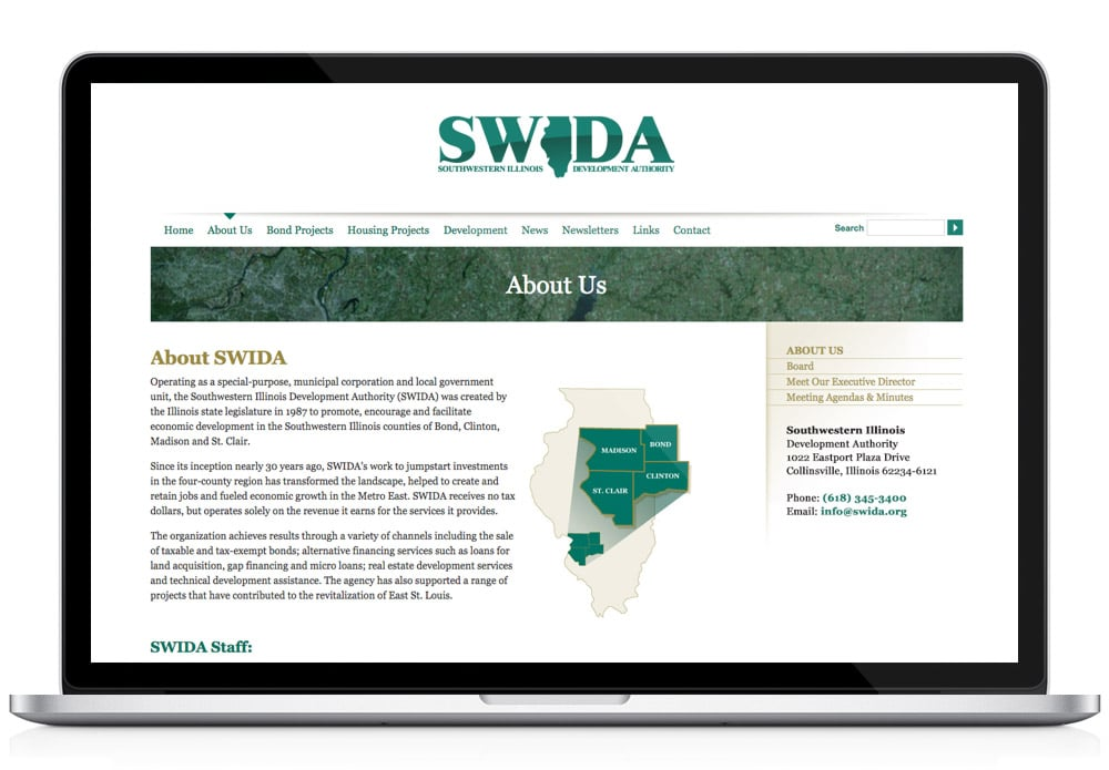 SWIDA About Web Page