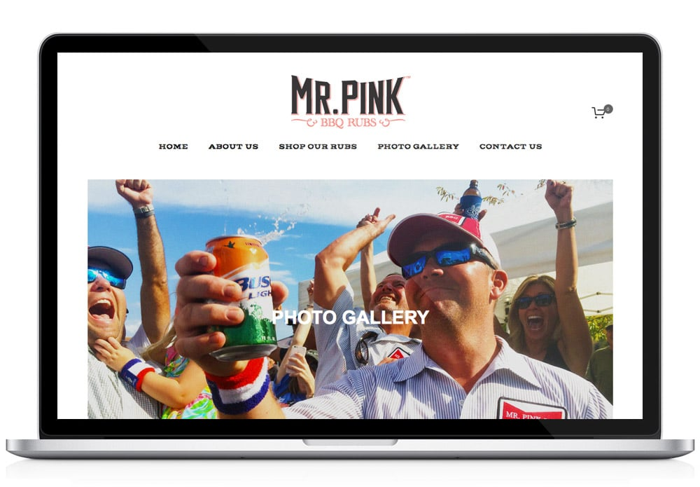 Mr. Pink Website Photo Gallery