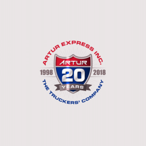 Artur Express 20 Year Anniversary Logo