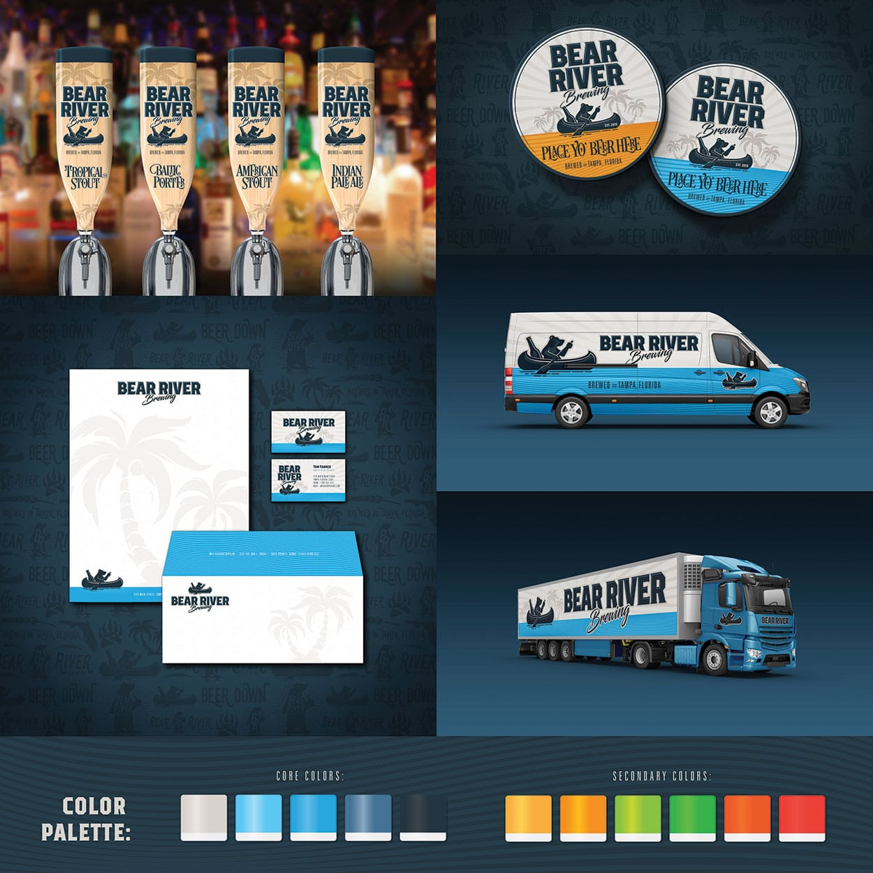 Bear River Brewing Identity Design