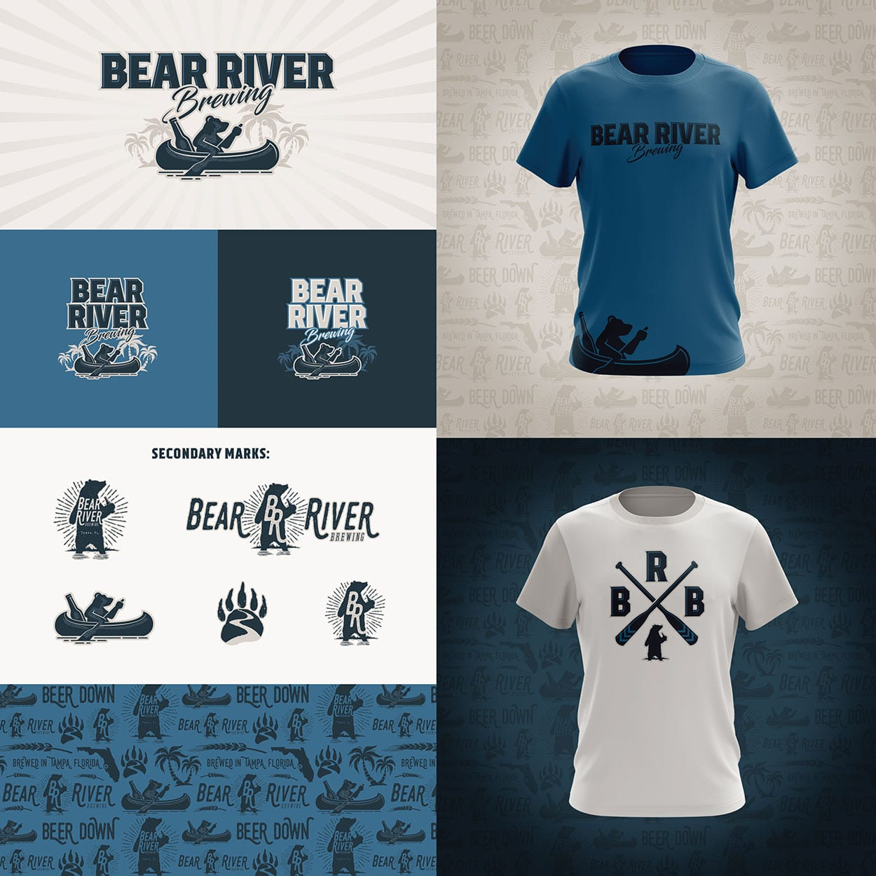 Bear River Brewing Logos