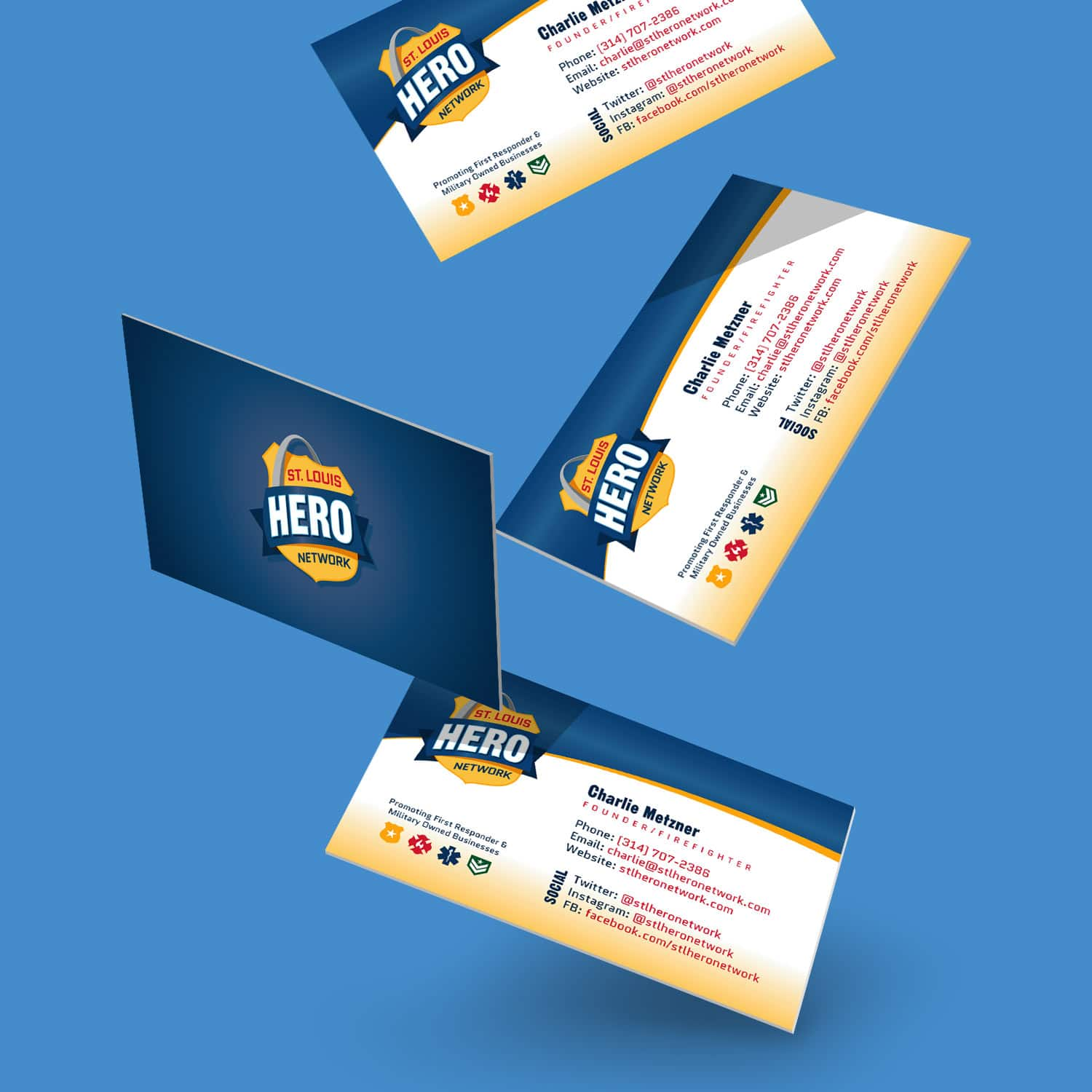 STL Hero Network Business Card 2