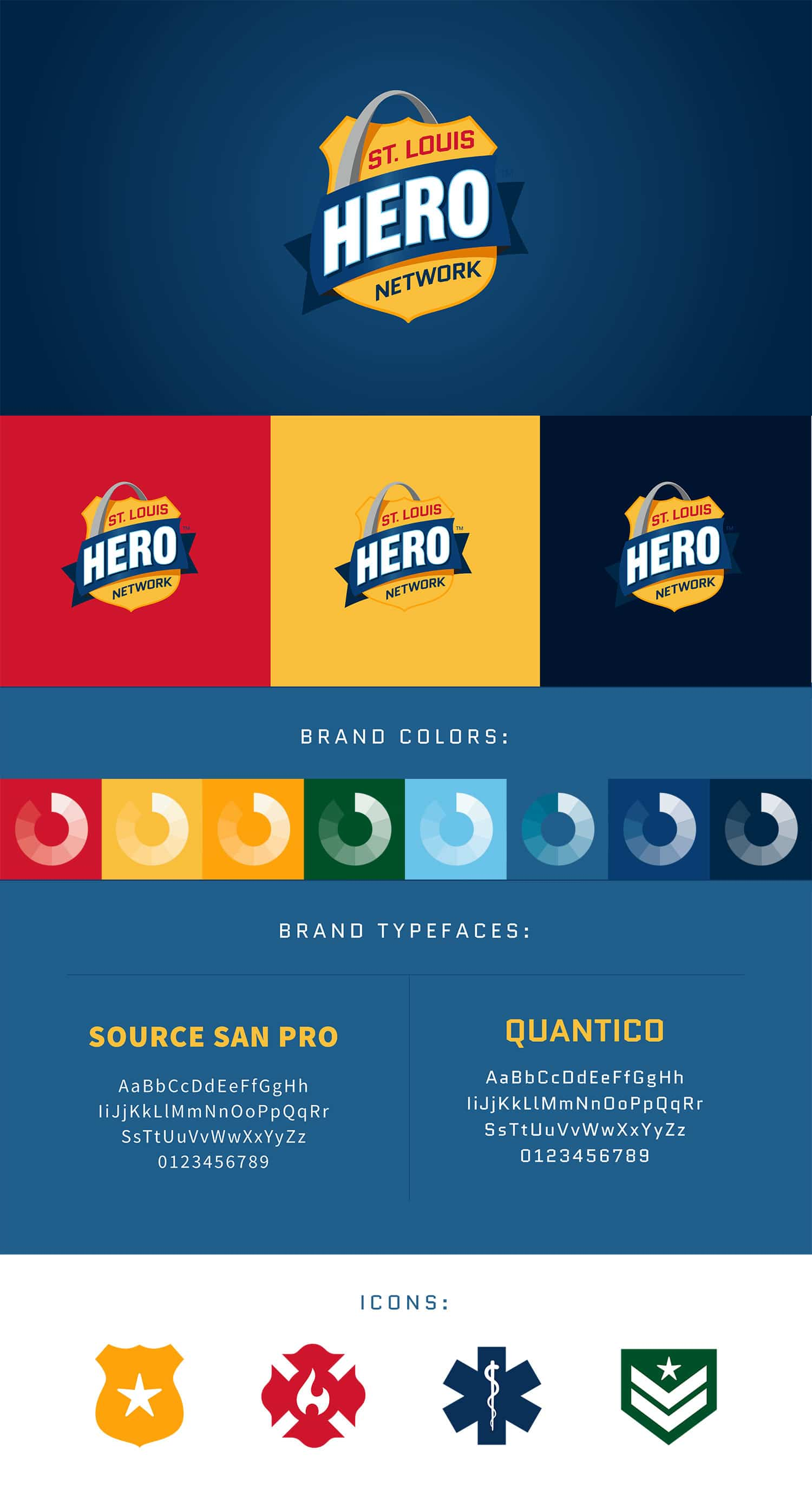 St. Louis Hero Network Logo guide