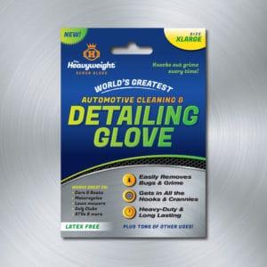 Heavyweight Scrub Glove Packaging Label Option